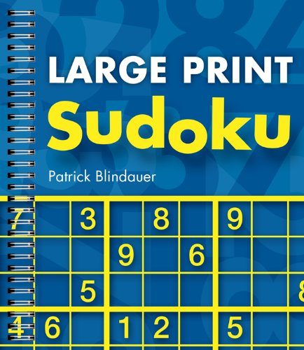 10 best sudoku book large print