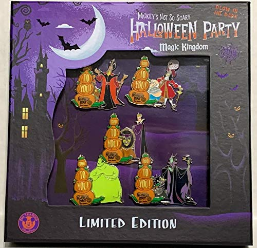 Mickey's Not So Scary Halloween (2019 Disney Parks Mickeys Not So Scary Halloween Party Limited Edition 5 Pin Boxed)