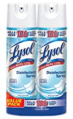 Lysol disinfecting spray helps protect your family and helps keep them healthy. Our products are designed to provide germ protection and can kill 99.9 percent of viruses and bacteria on hard surfaces, when used as directed. From counters to c...