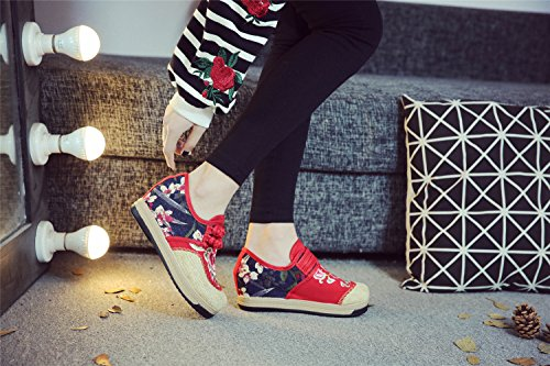 Tianrui Tianrui Red Donna Crown Sneaker Crown wq6wp1C4