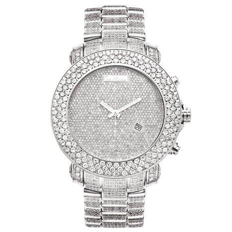 Joe Rodeo Diamond Men's Watch - JUNIOR silver 25.5 ctw