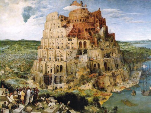 Tower of Babel by Clementoni