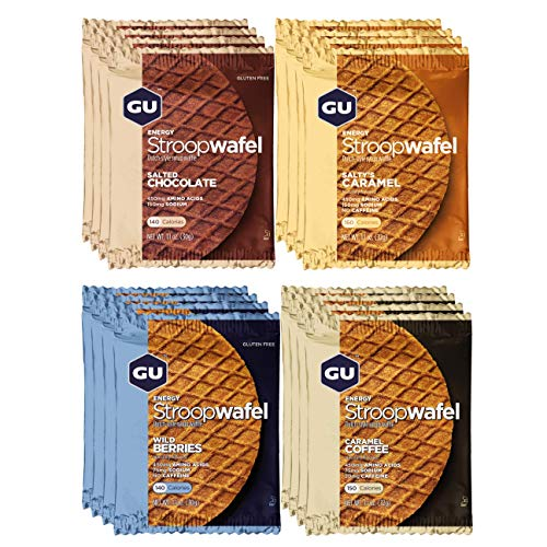 Hammer Nutrition Complex - GU Energy Stroopwafel Sports Nutrition Waffle, Assorted Flavors, 16-Count