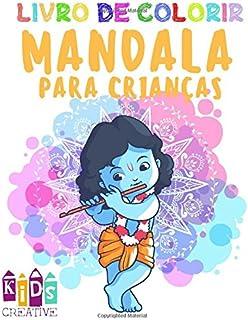 Livro de colorir mandala para crianças de 4 a 6 anos de idade ~ Mandalas fáceis: Unicórnios,…