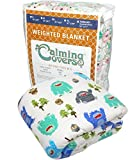 The Swanky Stitchery Designer Weighted Blanket kids (adult) | Dozens cute styles in many sizes | Gravity blankets may help relieve anxiety, stress & insomnia | Style - Bigfoot | Flannel - 6 lbs