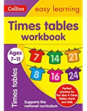 Times Tables Workbook Ages 7-11: Prepare for School with Easy Home Learning