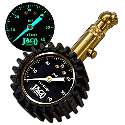 JACO Elite Tire Pressure Gauge - 60 PSI from JACO Superior Products