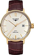 ELYSEE Men's 13281 Executive-Edition Analog Display Automatic Self Wind Brown Watch