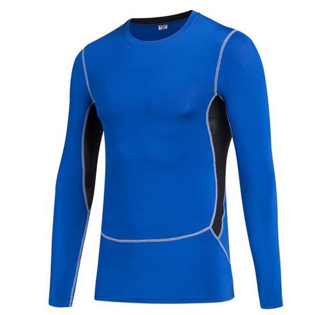 SHENGZ Adult Long Sleeve T-Shirt Fast Drying for Tight Training Sports Fitness and Running