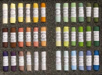 Unison Soft Pastels : Set of 36 Landscape