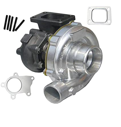 Amazon.com: T04E T3/T4 Turbo Charger A/R 0.57 55 Trim 5Bolt 400+HP Boost Turbocharger 7psi-21psi: Automotive