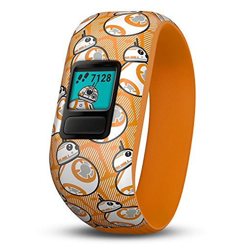 (Garmin Vivofit Jr. 2 with Stretchy Band Bundle (Star Wars BB-8 Club))