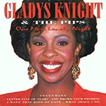 One More Lonely Night Gladys Knight Audio Music CD Pop R&B