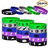 Gaming Party Supplies Bracelet For Kids Birthday Party Supplies Favors.Max Size 7.9inch -25 Pack