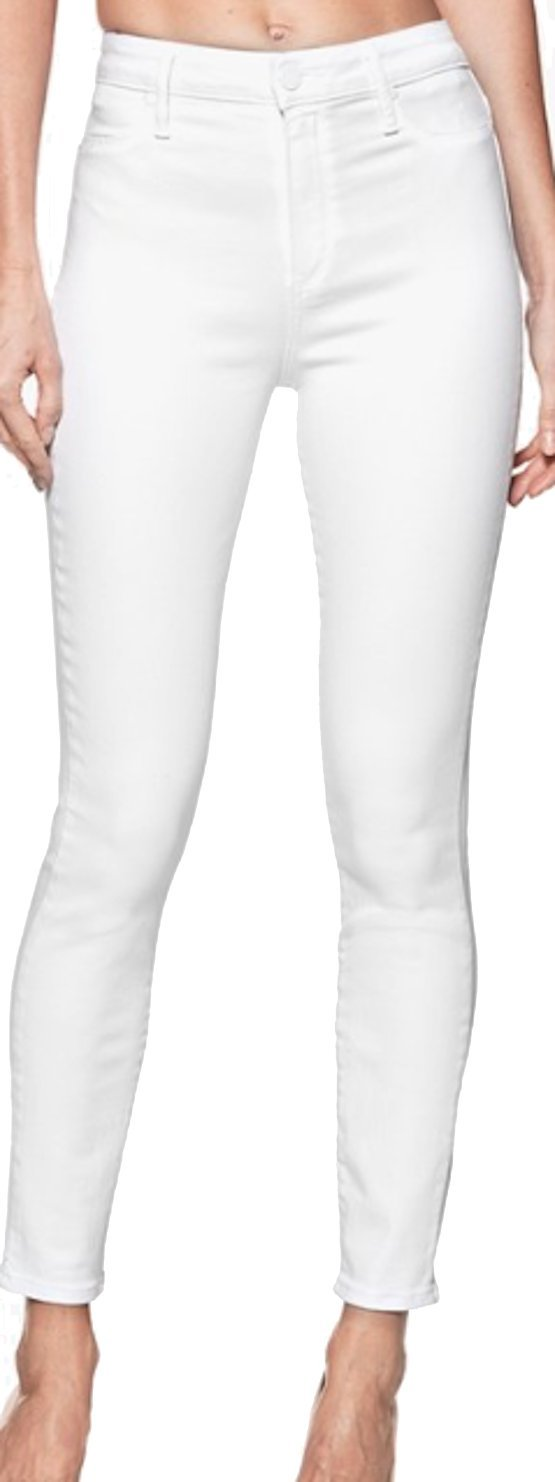 PAIGE Women's Jean Margot Ankle Ultra White High Rise Skinny Jean 2927700 2544 (26) by PAIGE