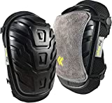 Knee Pads for Work by Protteger - Thickest Available Foam Padding with Gel Cushion - Double Adjustable No-Slip Straps - Bonus Microfiber Covers - Great for Construction, Gardening, Flooring, Cleaning