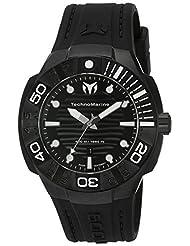 Technomarine Men's 'Black Reef' Swiss Quartz Stainless Steel Casual Watch (Model: TM-515012) by TechnoMarine