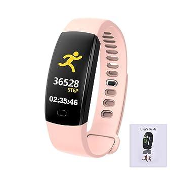 Montre Connectée, Bluetooth Smartwatch Étanche IP68,avec Ecran Tactile Sport Pédomètre Moniteur De Sommeil Bracelet pour Apple IPhone Samsung Sony iOS Et ...