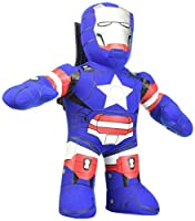 Bleacher Creatures U.S. Avengers Iron Patriot Plush Figure, 11""