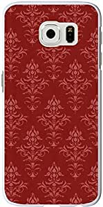 S6 Case Samsung Galaxy S6 Cover red simple flower floral patterns sale on ZENG Case