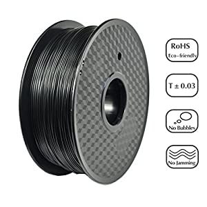 PRILINE PLA-1KG 1.75 3D Printer Filament, Dimensional Accuracy +/- 0.03 mm, 1kg Spool, 1.75 mm