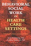 Behavioral Social Work in Health Care Settings, Andrew Weissman, 0789010259