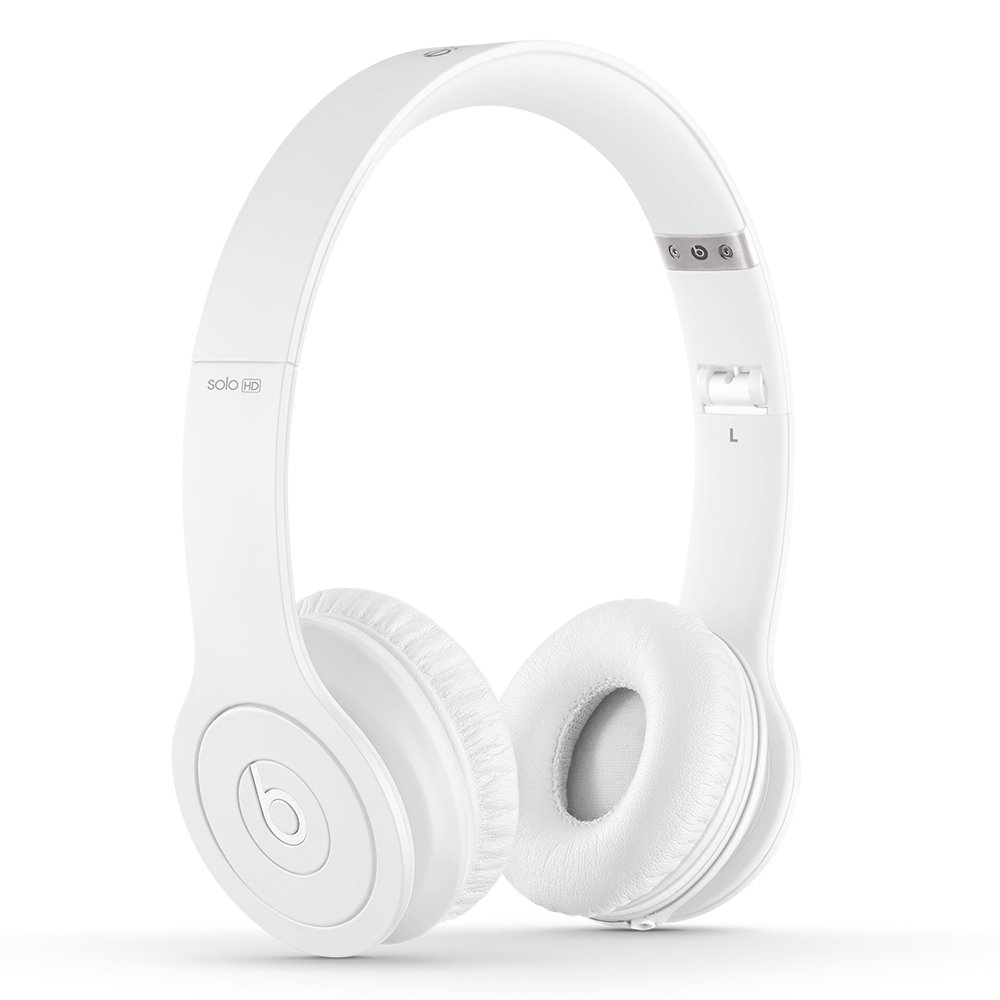 Beats Solo HD Wired On-Ear Headphone - Matte White (Discontinued by Manufacturer) by Beats