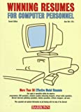Winning Resumes for Computer Personnel, Anne Hart, 0764101307