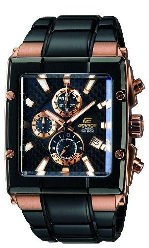 d09dc62d5e8b CASIO Edifice Gold Label EFX-501SP-1AVEF - Reloj de Cuarzo con Correa de  Acero Inoxidable para Hombre (con cronómetro)