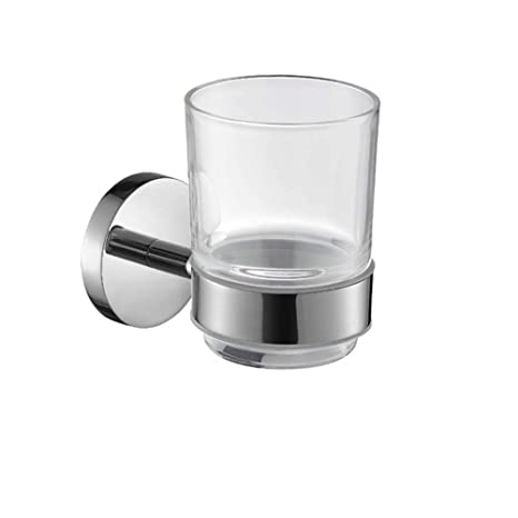 CF Portavasos Colgante para baño Portavasos Acero Inoxidable 304 Set de Vasos para cepillos de Dientes