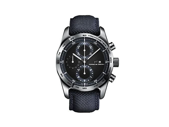 Reloj Automático Porsche Design Chronotimer Series 1, Titanio pulido: Amazon.es: Relojes