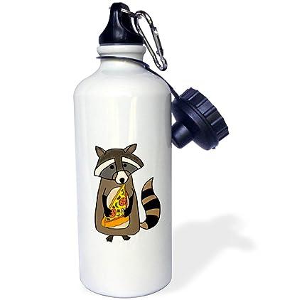 3dRose wb/_255713/_2 Funny Cute Llama Bride Straw Water Bottle