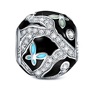 NINAQUEEN Butterfly Queen 925 Sterling Silver Bead Charms