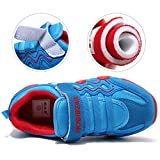 HOBIBEAR Kids Outdoor Sneakers Strap Athletic