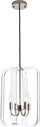 4-Light Modern Pendant Fixture