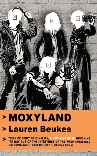 book cover of Moxyland