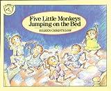 Five Little Monkeys Jumping on the Bed, Eileen Christelow, 0899197698
