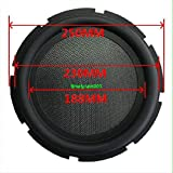 "FidgetFidget Speaker 1pcs 10"" inch 250mm Bass Radiator Passive Woofer Vibration Diaphragm"