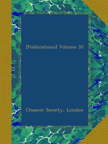 Read Online [Publications] Volume 35 ebook