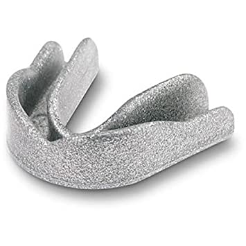 JUNIOR KIDS SILVER SPARKLE GUM SHIELD FOR HOCKEY RUGBY CRICKET MARTIAL ARTS