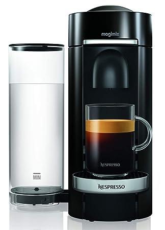Magimix Nespresso Vertuo Independiente Máquina espresso 1.8L Negro - Cafetera (Independiente, Máquina espresso, 1,8 L, Cápsula de café, 1260 W, ...