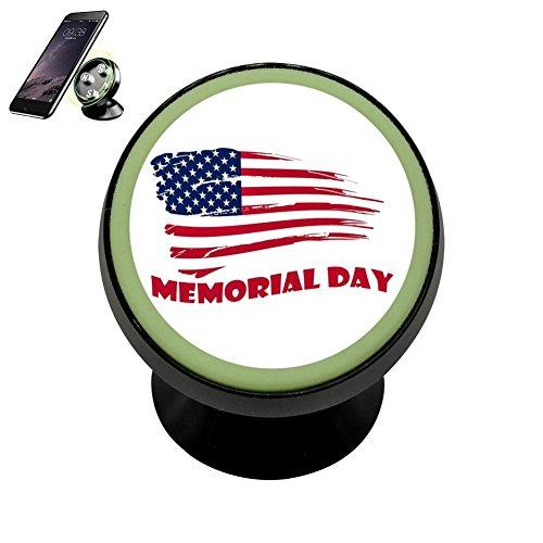 Pedestal Memorial (Memorial Day Magnetic Stand Holder Mobile Phone Bracket Cellphone Car Mount Holder For Smartphone)