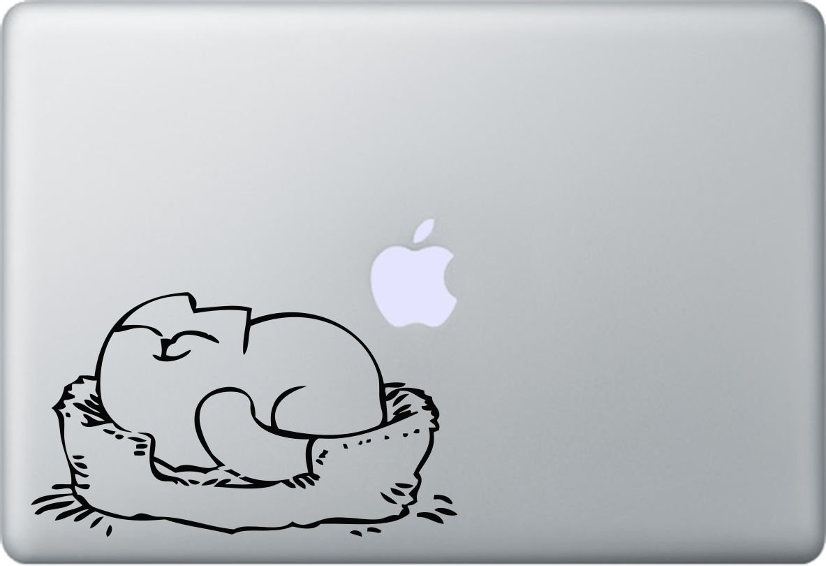 Simon's Cat - Aufkleber Apple MacBook Air und MacBook Pro