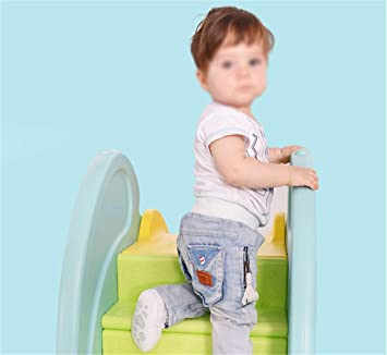 Skiout Children's Slide Climber Plastic Play Slide Climbing Ride for Outdoor/Indoor/Garden Play Toy Playground