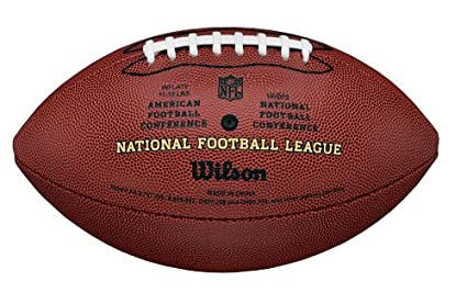 Amazon.com : Wilson NFL Pro Replica Game Football (Official Size ...