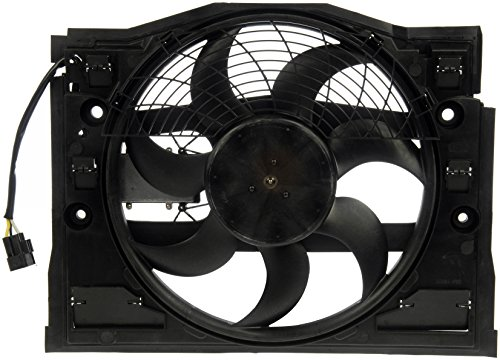 Dorman 621-385 Air Conditioning Condenser Fan Assembly 323i Condenser Cooling Fan