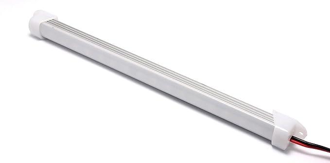 12 vmonster DC 12 V 9 W warm weiß 18 x 5630 Cluster LED Röhre ...