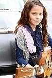 Capturing Couture KID20-SPRS Guitar Strap, Sweet Pink Organza Kids