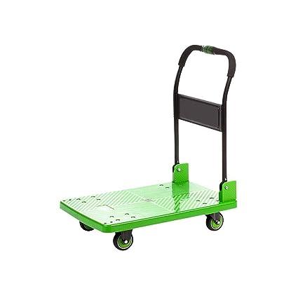 LPYMX El Carro portátil del Equipaje se Puede Doblar el Transporte de Rod de la aleación