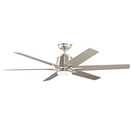 Home decorators collection yg493a bn kensgrove 54 in integrated led indoor brushed nickel ceiling